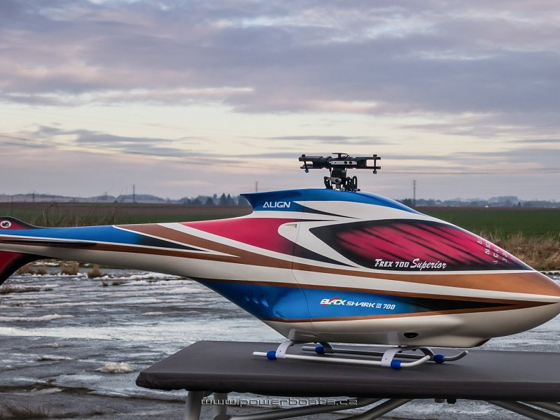 LA 700 LAheli CZ Conversion Fuselage F3C BlackSharkIII from Powerboats